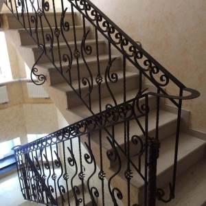 кованые перила для лестницы заказать Долгопрудный