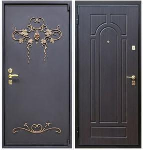 кованные металлические двери под заказ