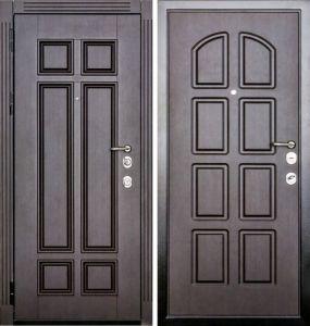 металличесие двери в филенке утепленная от производителя