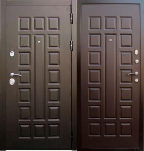уличные двери с пленкой Винорит купить под заказ