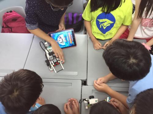 lego robotics coding program demo session