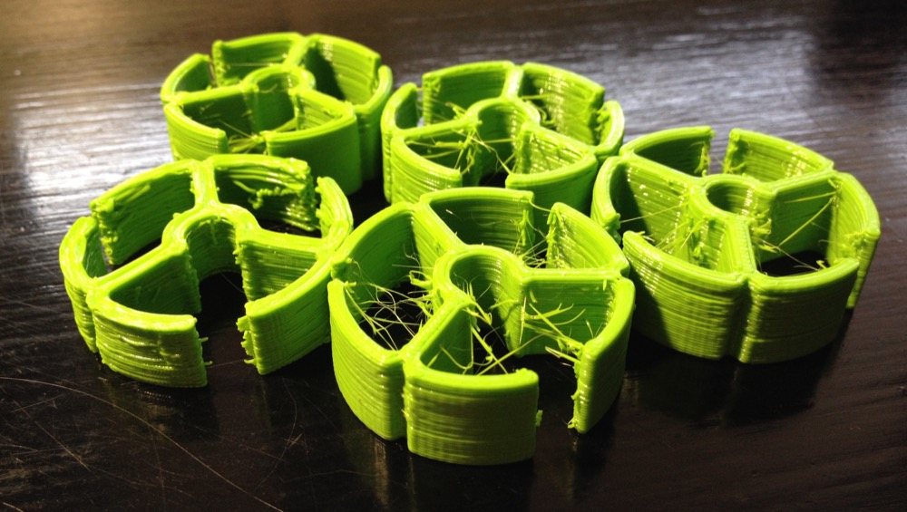 3d printed bearing for