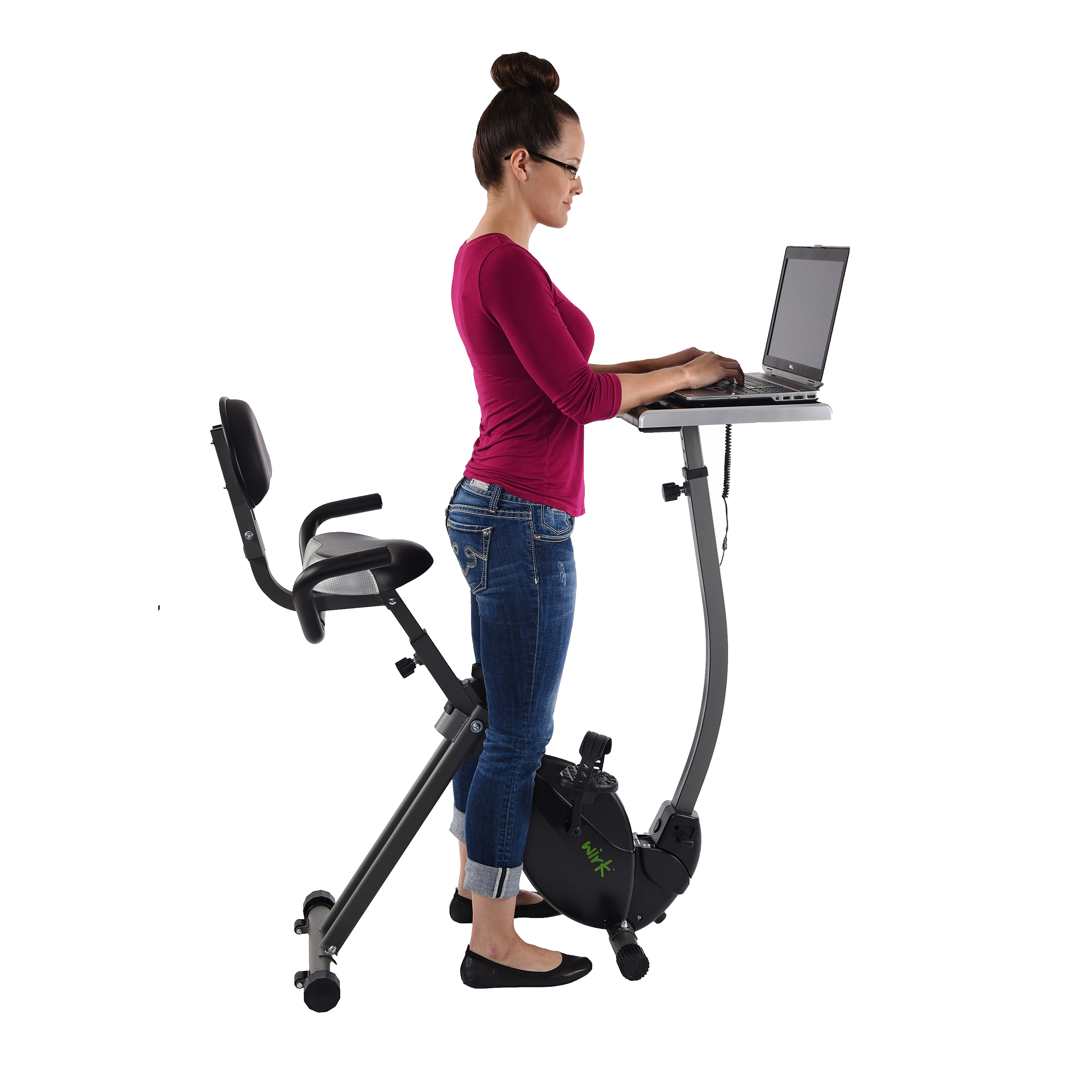 Chair Exercise Wirk Ride Exercise Bike Workstation And Standing Desk