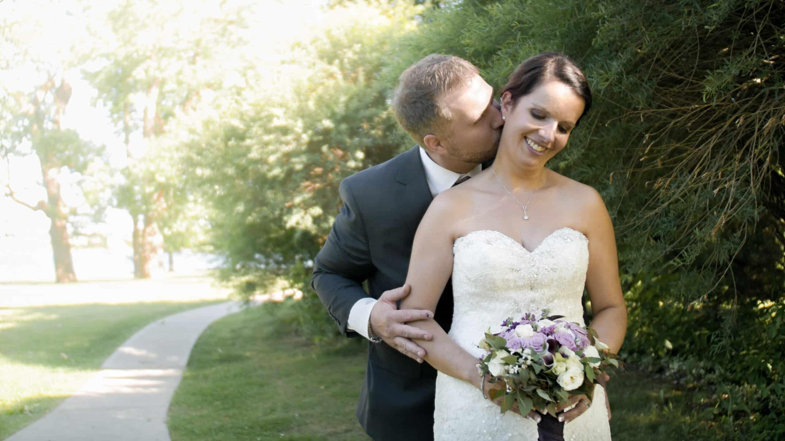 Mariage, Couple de mariés, vidéo de mariage, film de mariage, Mariage au Collège Militaire