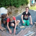 Projekt Heim: Pflastern
