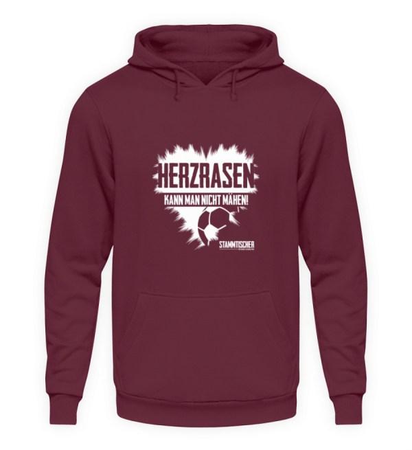 Herzrasen - Hoodie - Unisex Kapuzenpullover Hoodie-839