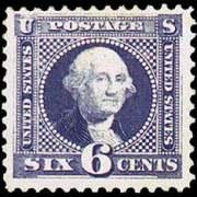 6¢ Washington - ultramarine