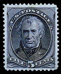 5¢ Taylor - blue
