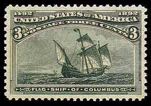 3¢ Flagship - green