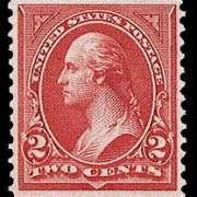 2¢ Washington Type II - carmine