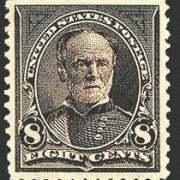 8¢ Sherman - violet