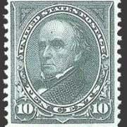 10¢ Webster - dark green