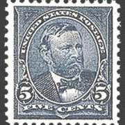 5¢ Grant - dark blue