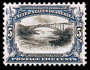5¢ Bridge at Niagara Falls