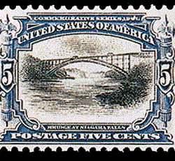 5¢ Bridge at Niagara Falls