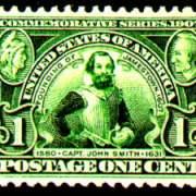 1¢ Captain John Smith