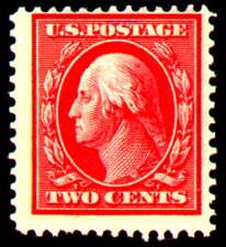 2¢ Washington - carmine
