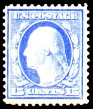 15¢ Washington - ultramarine