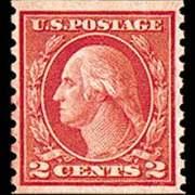 2¢ Washington Type III - carmine