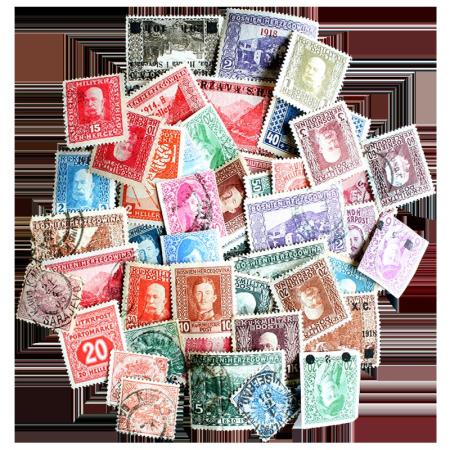 50 Different Bosnia Stamps