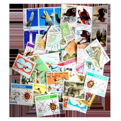 50 Different Portugese Colonies Postage Stamps