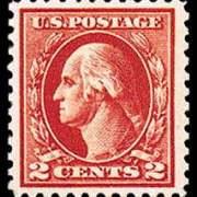 2¢ Washington Type IV - carmine