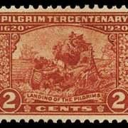 2¢ Landing of Pilgrims