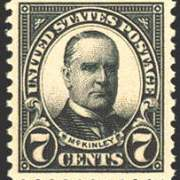 7¢ McKinley (1923) - black