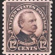 12¢ Cleveland (1923) - brown violet