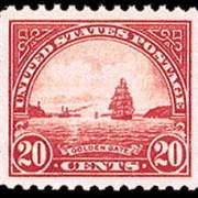 20¢ Golden Gate (1923) - carmine rose