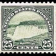 25¢ Niagra Falls - green