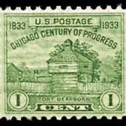 1¢ Ft. Dearborn
