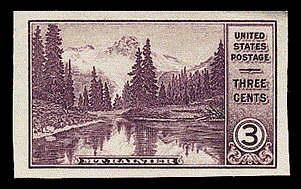 3¢ Mt. Rainier