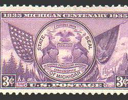 3¢ Michigan