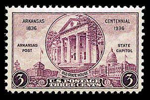 3¢ Arkansas Statehood