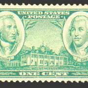 1¢ green
