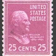 25¢ McKinley