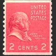 2¢ J. Adams