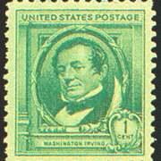 1¢ Washington Irving