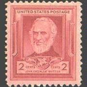 2¢ John G. Whittier