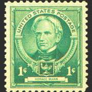1¢ Horace Mann