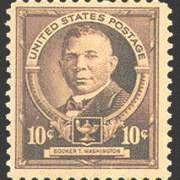 10¢ B. T. Washington