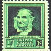 1¢ John J. Audubon