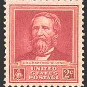 2¢ Dr. Crawford W. Long
