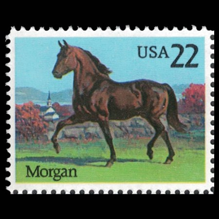 1985 U.S. #2156 - American Morgan Horse