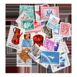 Packet of 25 United States stamps