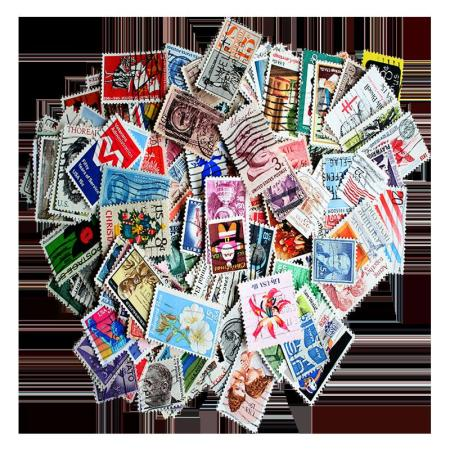 ZM-Packet of 200 United States Stamps