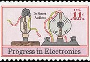 United States Airmail Stamps - 1973 - 11¢ Electronics