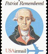 United States Airmail Stamps - 1980 - 40¢ Philip Mazzei