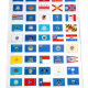 stamp album state flag labels